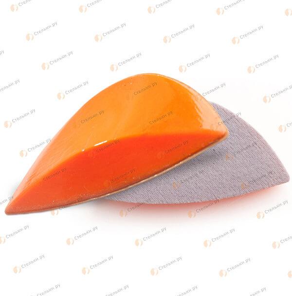 Самоклеящийся силиконовый супинатор с тканевым покрытием для лечения плоскостопия 1-2 степени