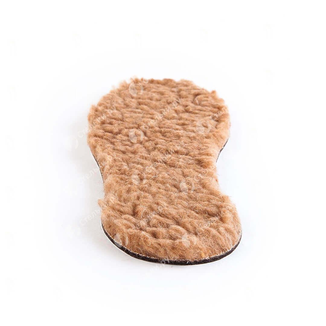 Теплые зимние стельки из 100% верблюжьей шерсти, войлока и фольги разм. 35-45 (3-слойные) арт. ПИК 023