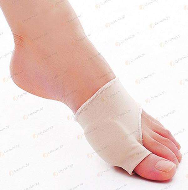 Защита косточки большого пальца на тканевой основе с гелевой подушечкой (бурсопротектор) (арт. 167/168)