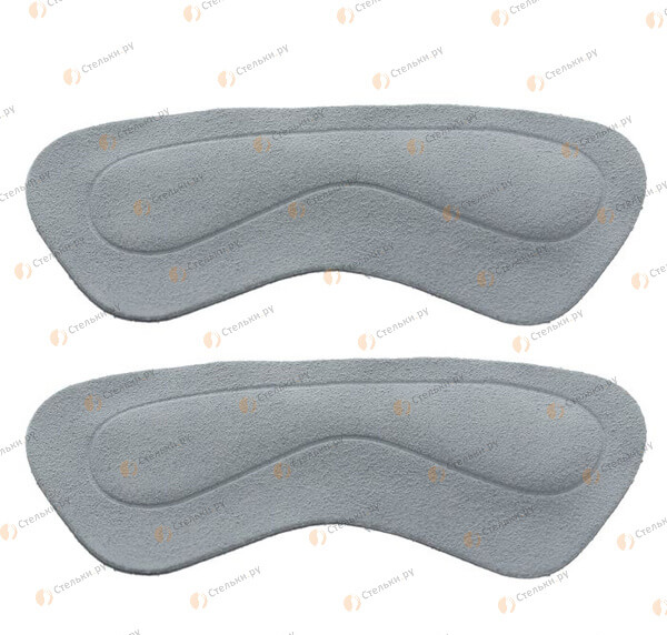 Белые напяточники от натирания и уменьшения обуви на пол размера (арт. О919)