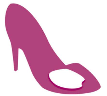Гелиевые вкладыши с бархатистой поверхностью для ежедневного ношения в обуви на каблуке (арт. 6860)