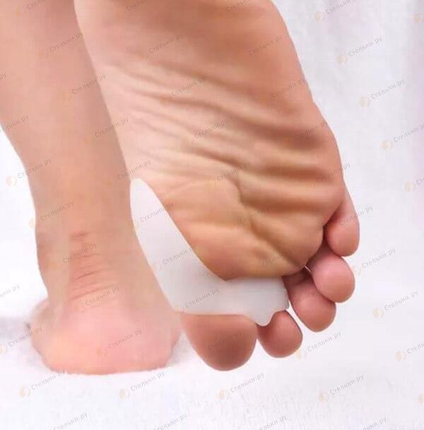 Бурсопротекстор для лечения косточки первого пальца с дополнительным креплением на втором пальце Вальгус Про Плюс (Valgus Pro+) (арт. 203С)