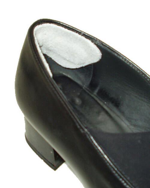 Бежевые кожаные пяткоудерживатели для корректировки размера обуви и защиты от натирания (арт. 37К)