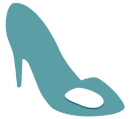 Тонкие и невидимые гелиевые вкладыши для закрытой и открытой обуви на каблуке (арт. 6865)
