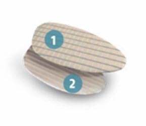 Вставка для уменьшения размера обуви и корректировки промежуточных размеров