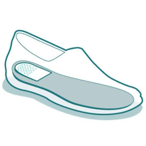 Прозрачные гелиевые подпяточники для повседневного использования в любой обуви
