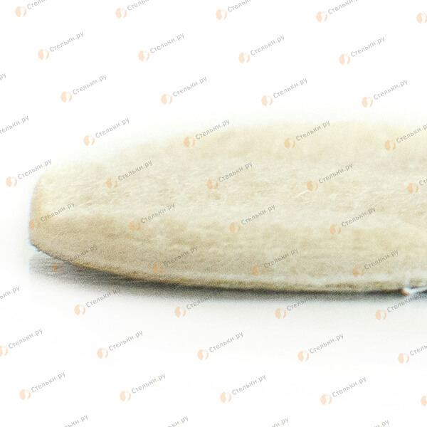 Теплая стелька для детей из 100% шерсти (войлок), флиса и фольги (4-х слойная)