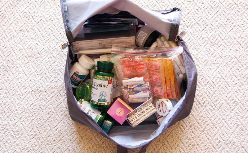 Лекарства в багаже